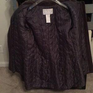 BB Dakota Jackets & Coats - BB Dakota Gray w/ Fur Collar Coat